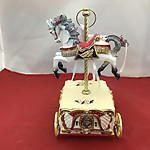 Carousel Wagon Music Box #14276