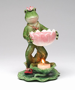 Frog With Tart Burner