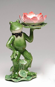Frog T-Light Holder