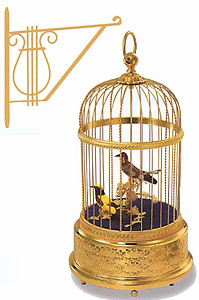 Singing Birds In Cage #007005-02