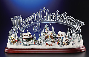 Merry Christmas Musical Village