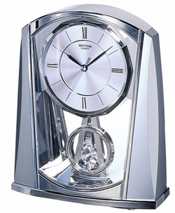 Silver Swing Rhythm Clocks