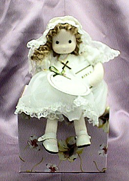 First Communion Doll Musical #98313