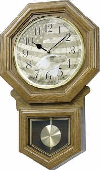 American Patriot Musical Rhythm Wall Clock