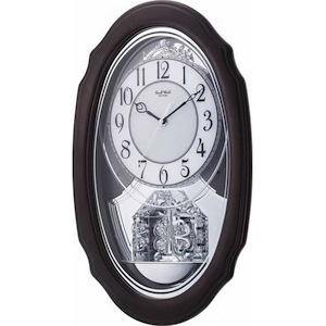 Crystal Hearts Rhythm Clock