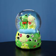 Jingle Jumbles™ Frog Musical Water Globe