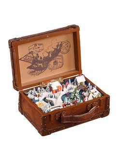 Winter Village Musical Suitcase