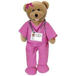 Animated Musical Scrubs Bear - Doctor, Nurse #01039