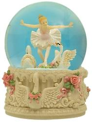 Ballerina with Swans Musical Waterglobe #25209