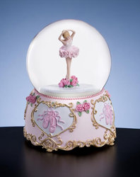 Ballet Dancer Move with Grace Musical Waterglobe  #42327