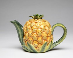 Porcelain Decorative Pineapple Teapot#10334TP
