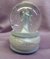 Friendship Angel Musical Waterglobe #74563