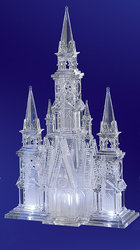Illuminated Cathedral Acrylic Sculpture #IC80216
