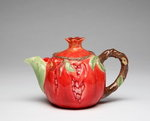 Porcelain Decorative Pomegranate Teapot #10333TP