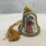 Christmas Angel Musical Bell Ornament #MBK887301