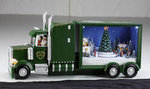 Christmas Big Rig Music Box  #IC94046