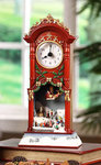 Christmas Choir & Sledders  Clock  #IC94053