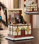 Santa Pop-Up Music Box  #96017