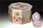 Ballerina Musical Octagon Jewelry Box #JB011