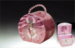 Ballerina Musical Jewelry Box Purse #JB015