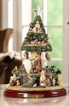 Bethlehem Village Motion Musical Christmas Tree  #IC94027T