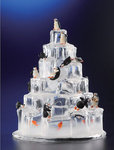 Penguin Ice Tower Figurine #IC90037