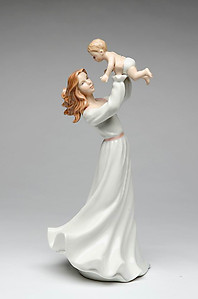 Porcelain Mother with Child
