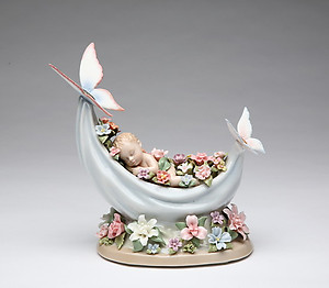 Sleeping Fairy Music Box