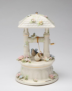 Wishing Well Porcelain Music Box