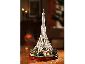 Champ de Mars Acrylic Music Box  #IC92047T