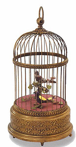 Singing Birds In Cage 007005-A2