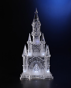 Acrylic Illuminated Ice Castle #IC91043