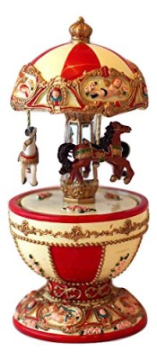 Egg Shaped Musical Carousel #14281