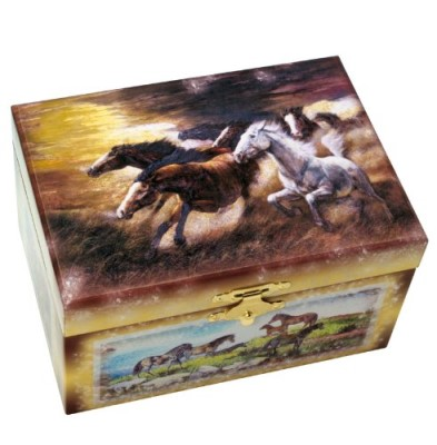 Horse Musical Jewelry Box #28023