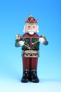 Drumming Nutcracker Music Box  #96025