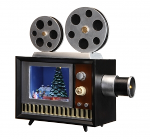 Christmas Projector Music Box