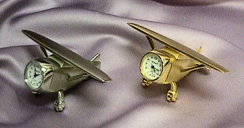 Miniature Airplane Clocks #500