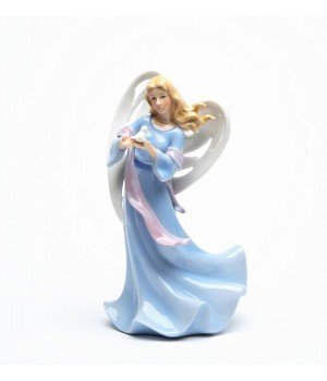 Heavenly Touch Porcelain Angel Figurine #C10125