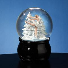 Swan Lake Ballet Musical Waterglobe  #SF51527