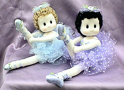 Ballerina Musical Dolls #06 & #08 ONLY AVAILABLE IN BLUE -- PURPLE IS SOLD OUT