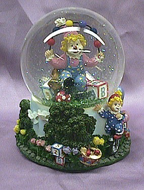 Clown Waterglobe #36006A