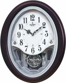 Crystal Delight Rhythm Clock