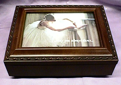 Ballerina Dance Music Box #D4V
