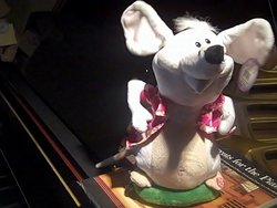 Animated Musical Singing Mouse  #mouse