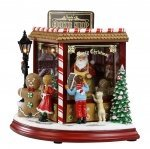 Santa's Musical Motion Cookie Shop  #IC94081